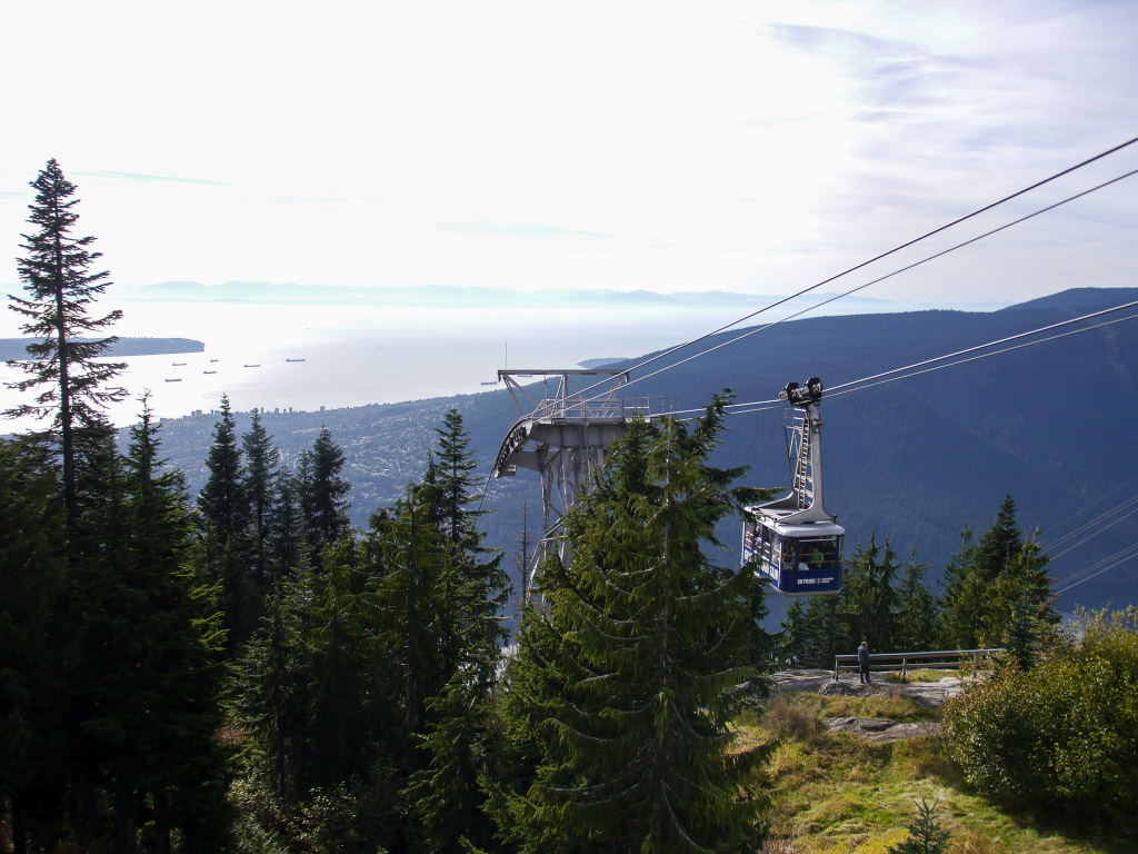 Grouse Mountain - Seilbahn