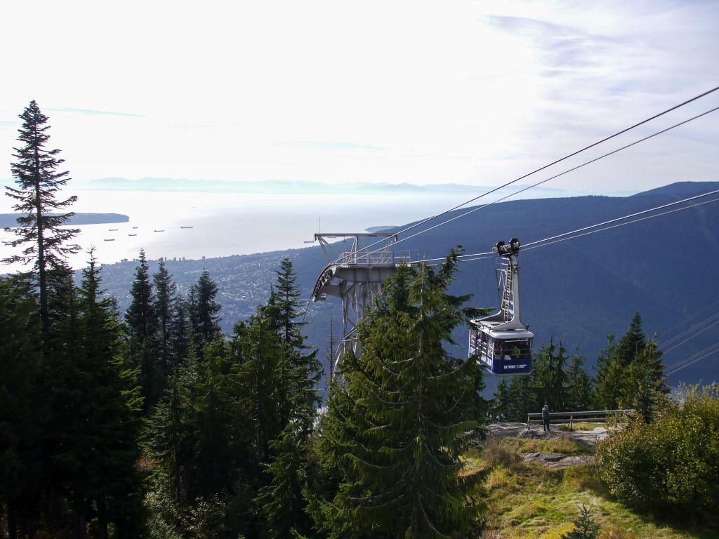 Grouse Mountain - Seilbahn