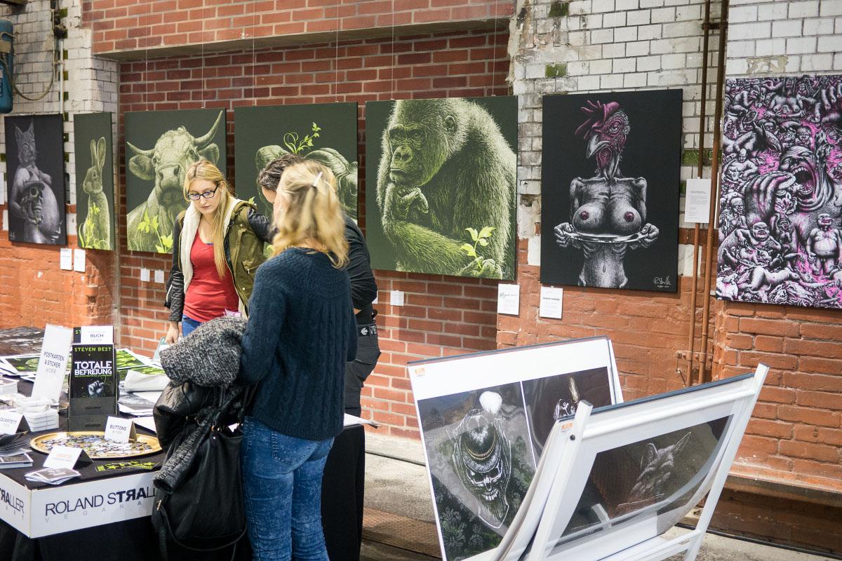 Roland Straller Vegan Art - VeggieWorld