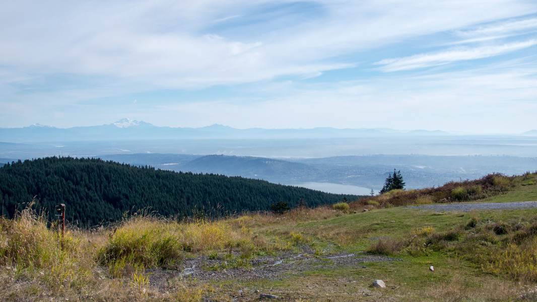 Vancouver - Grouse Mountain Ausblick