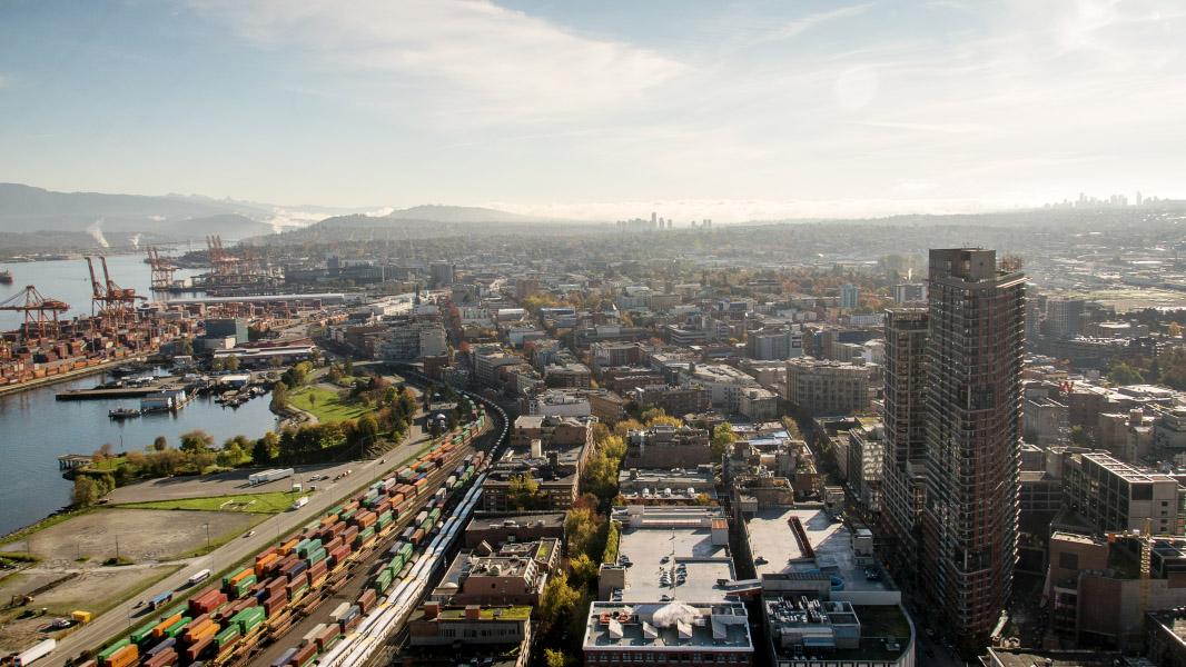 Vancouver Hafen - Ausblick