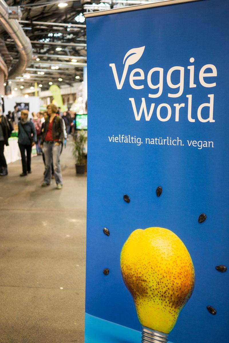 VeggieWorld - Aufsteller