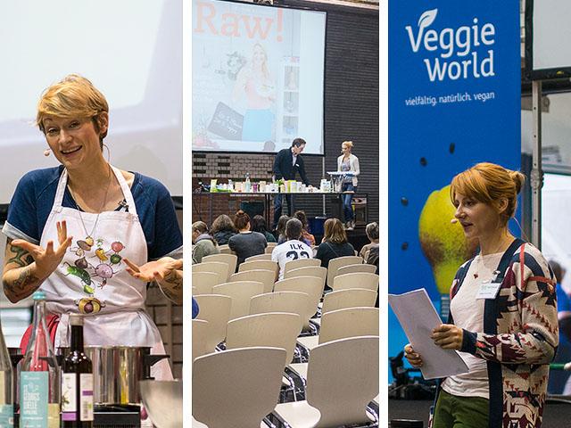 VeggieWorld Berlin 2015 – Teil 2: Kochkurse und Vorträge