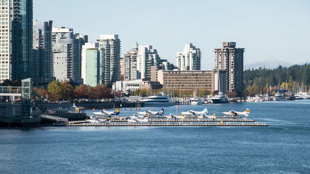 Wasserflugzeug-Hafen - Vancouver