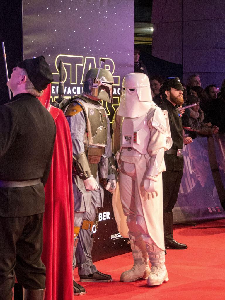 Boba Fett - Star Wars: Das Erwachen der Macht Premiere Berlin