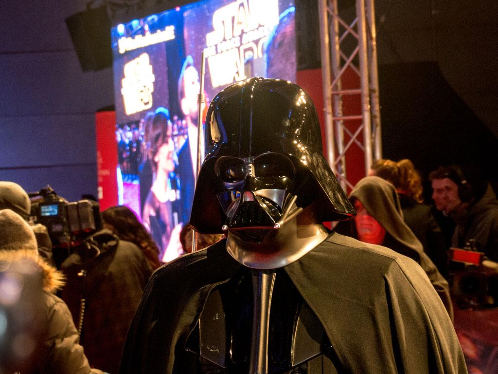 Darth Vader - Star Wars: Das Erwachen der Macht Premiere Berlin
