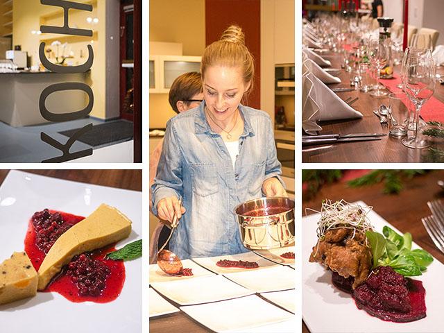 Kochschule Berlin - Kochkurs mit Nicole Just