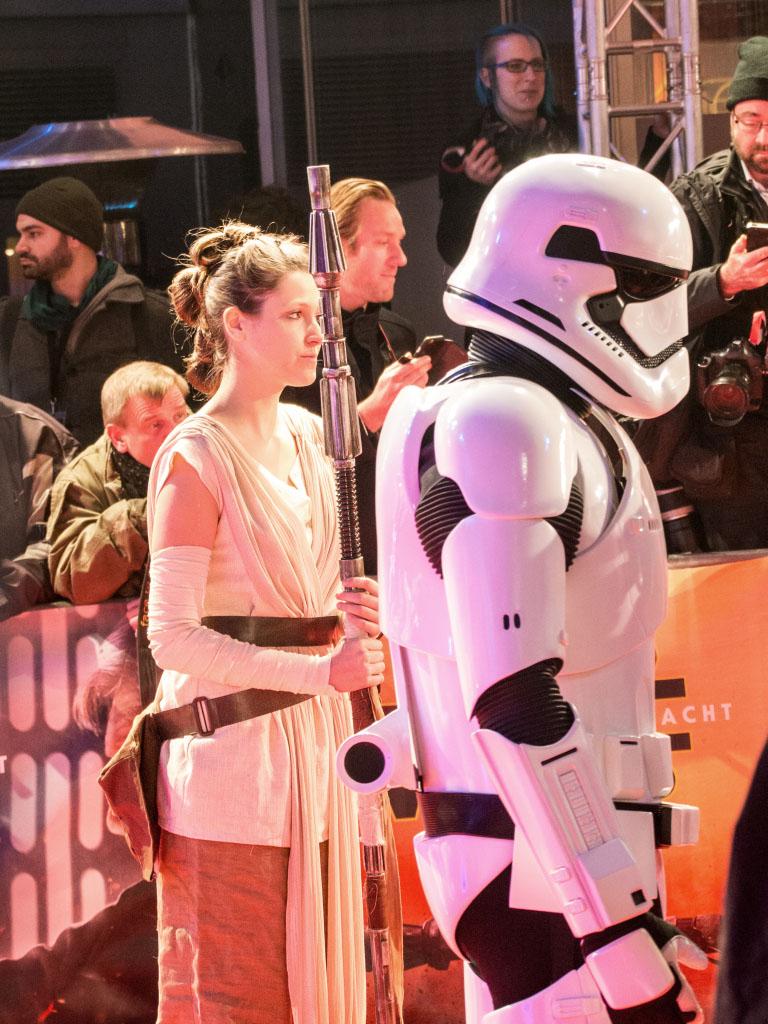 Rey - Star Wars: Das Erwachen der Macht Premiere Berlin