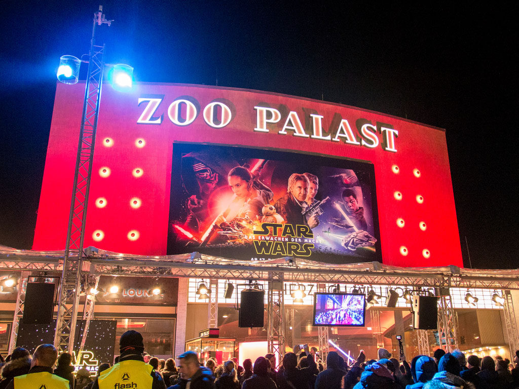 Star Wars Episode VII - Premiere im Zoo Palast Berlin