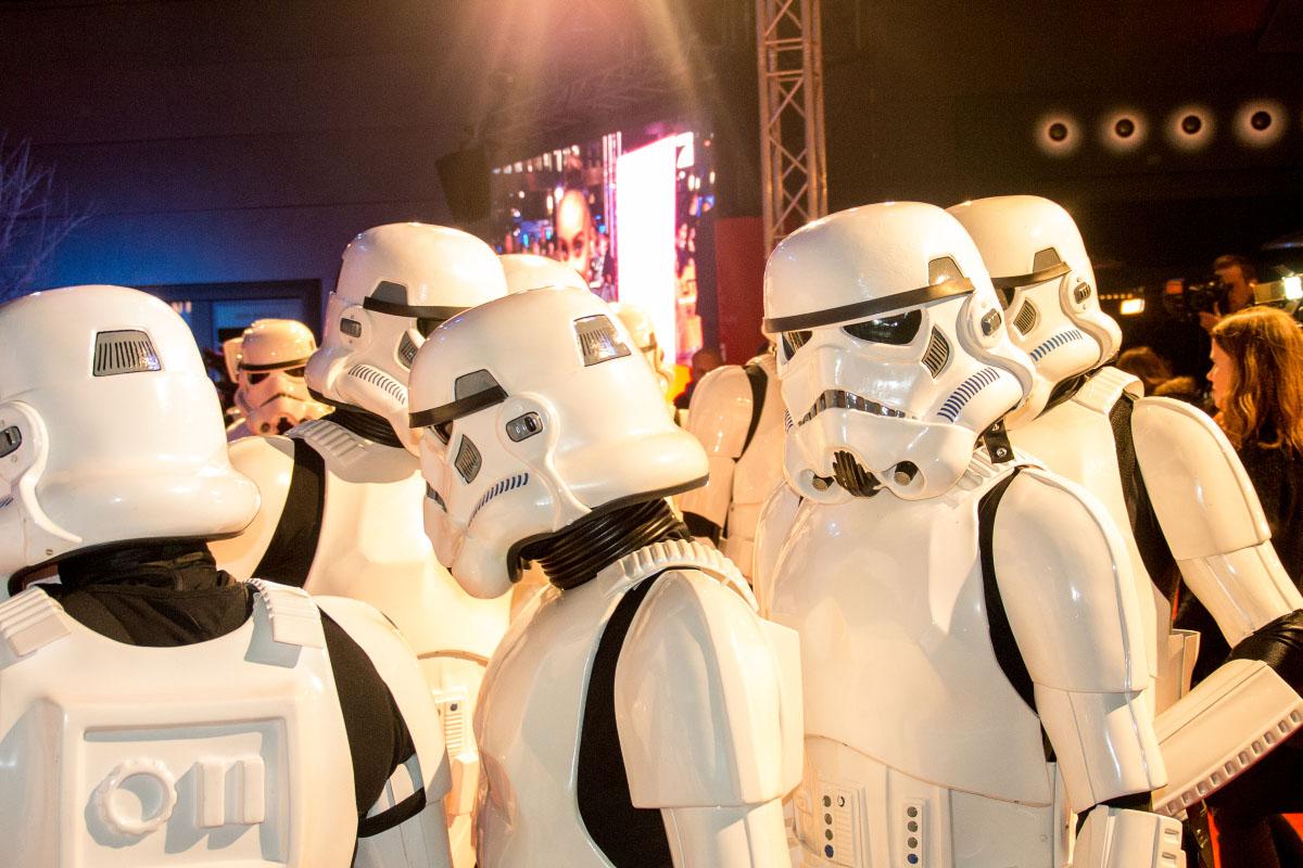 Stormtroopers - Star Wars: Das Erwachen der Macht Premiere Berlin