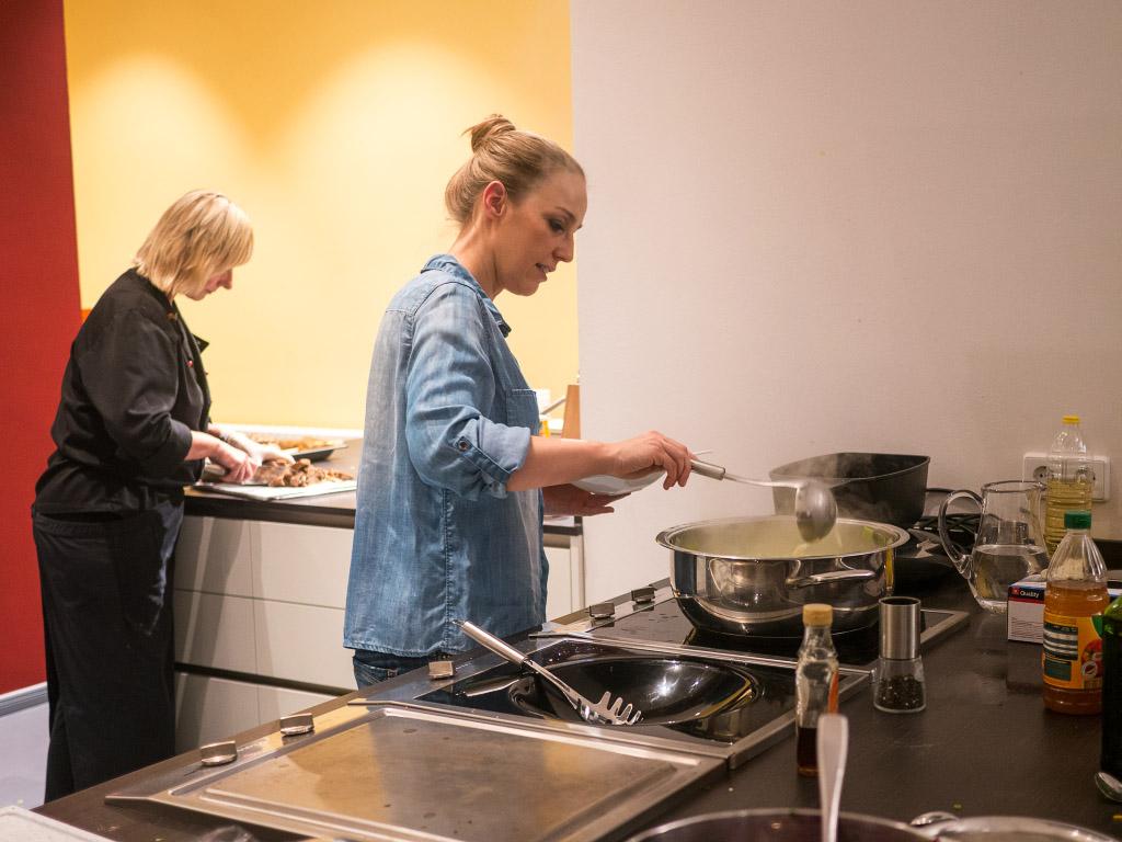 Veganer Kochkurs mit Nicole Just