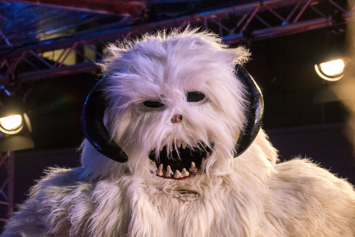 Wampa - Star Wars: The Force Awakens Premiere Berlin
