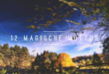 12 magische Mottos - Logo