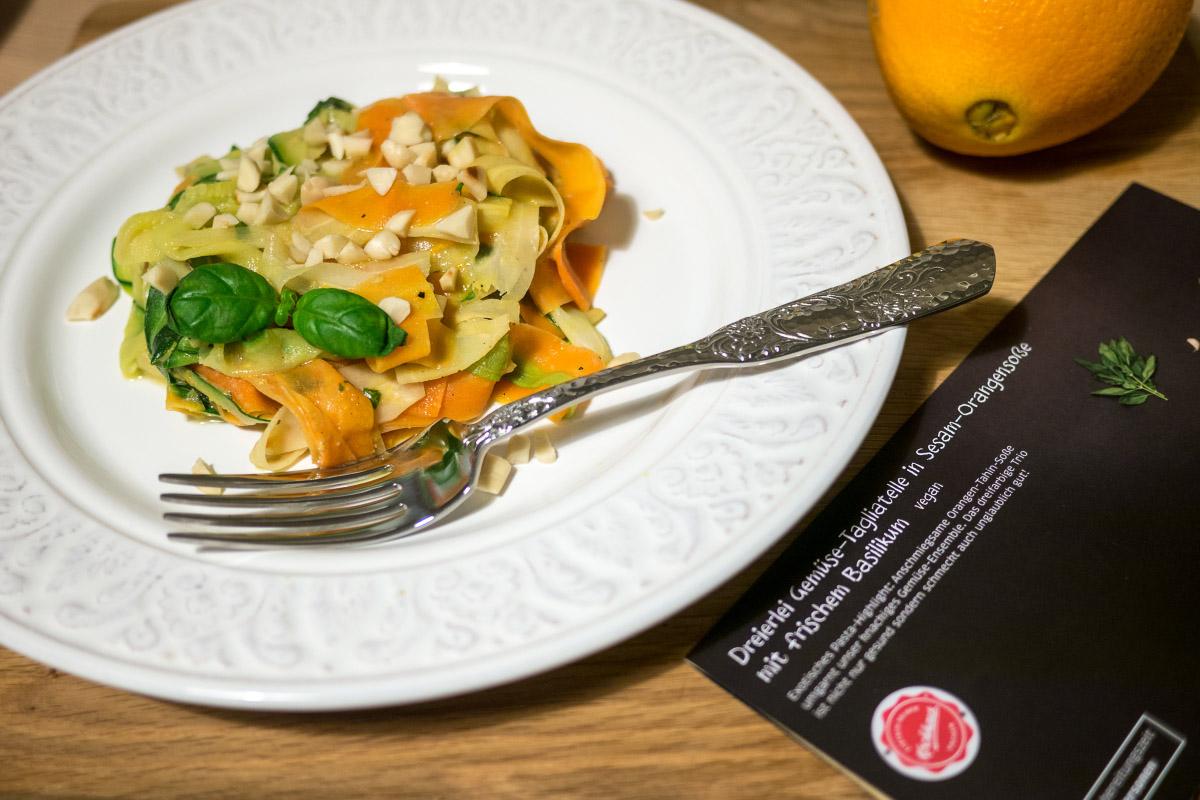 Kochhaus - Gemüse-Tagliatelle vegan