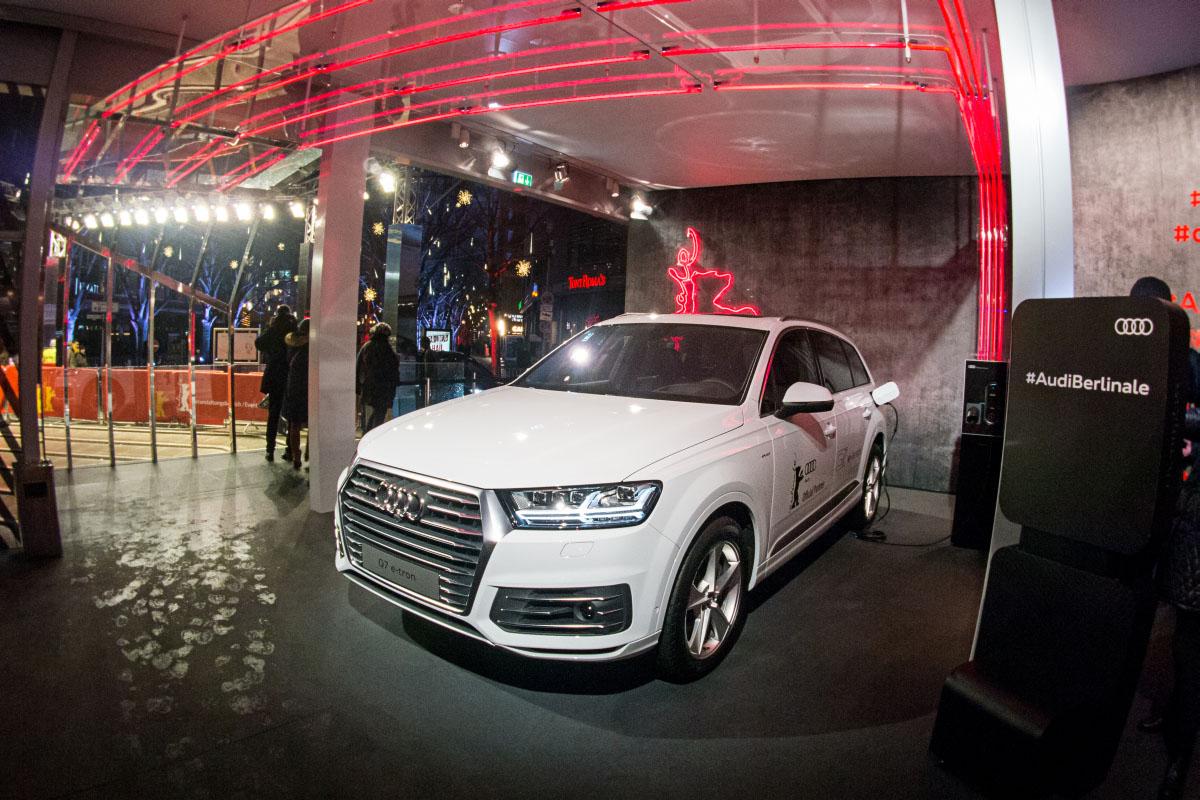 Audi Q7 e-tron - Berlinale 2016
