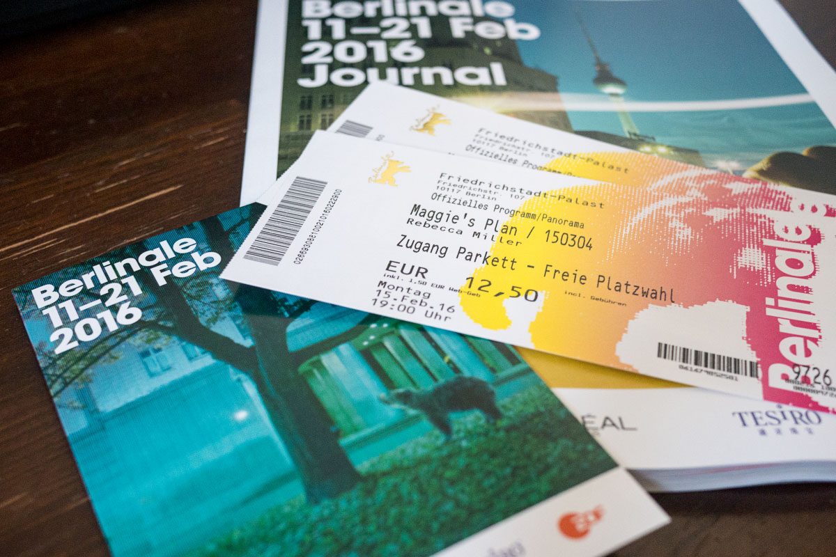 Berlinale 2016 - Tickets