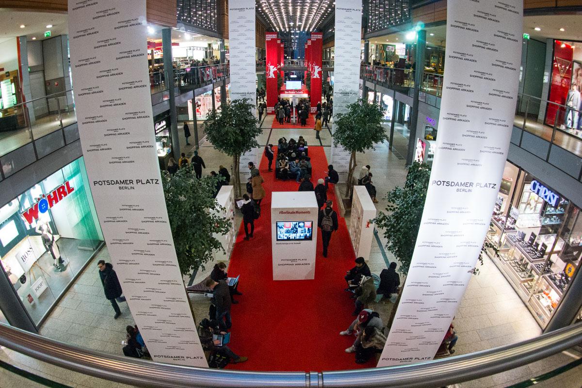Berlinale Ticket-Schalter Potsdamer Platz Arkaden