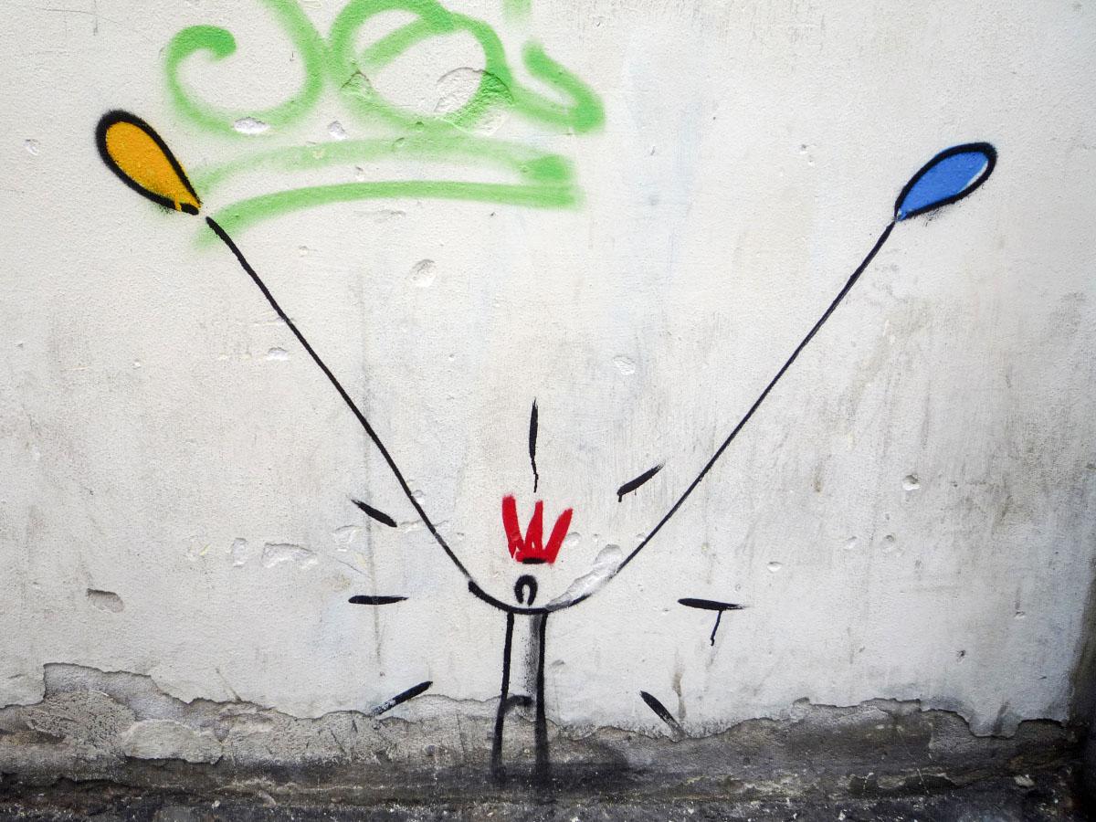Florenz - Graffiti