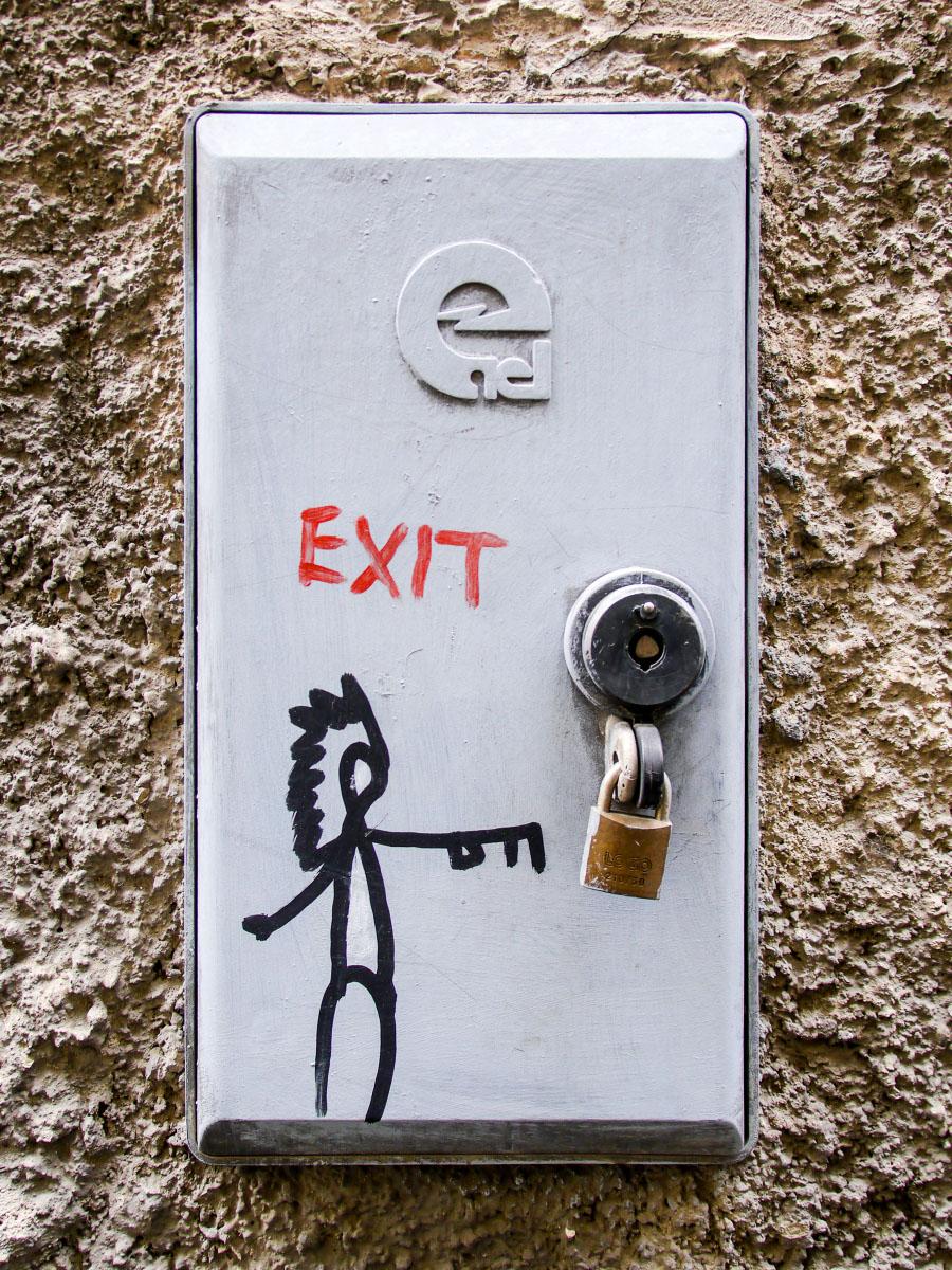 Graffiti in Florenz