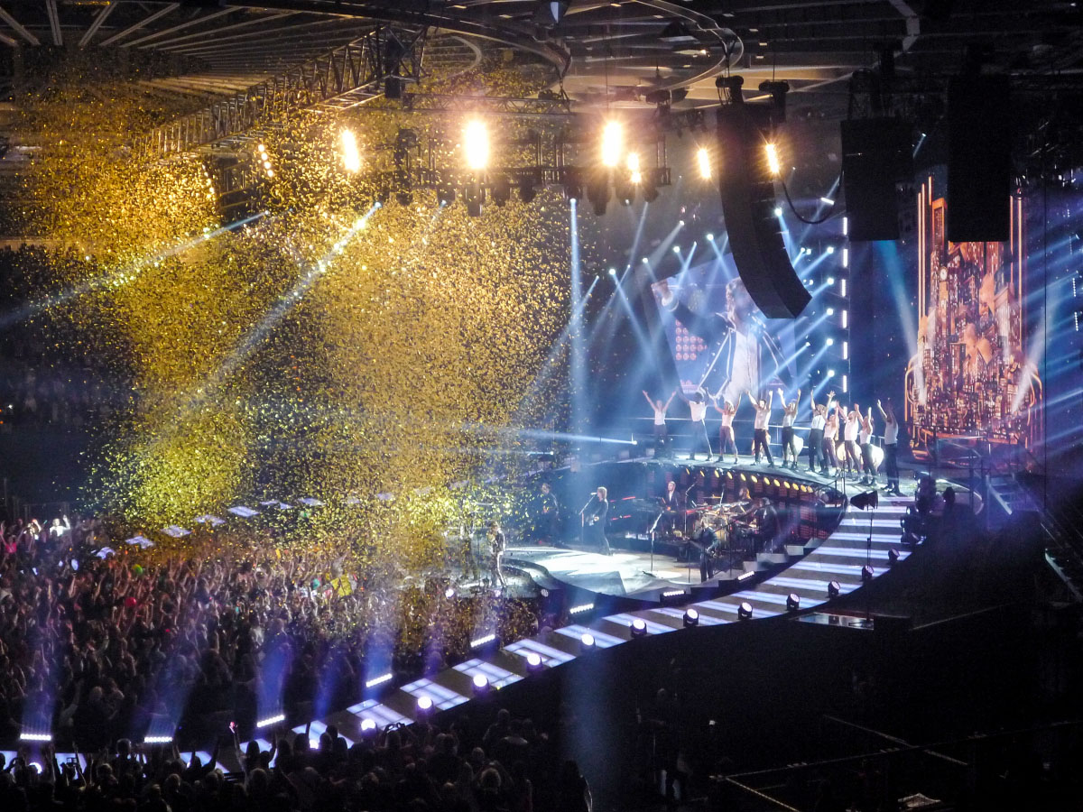 Take That-Konzert - Berlin 2015