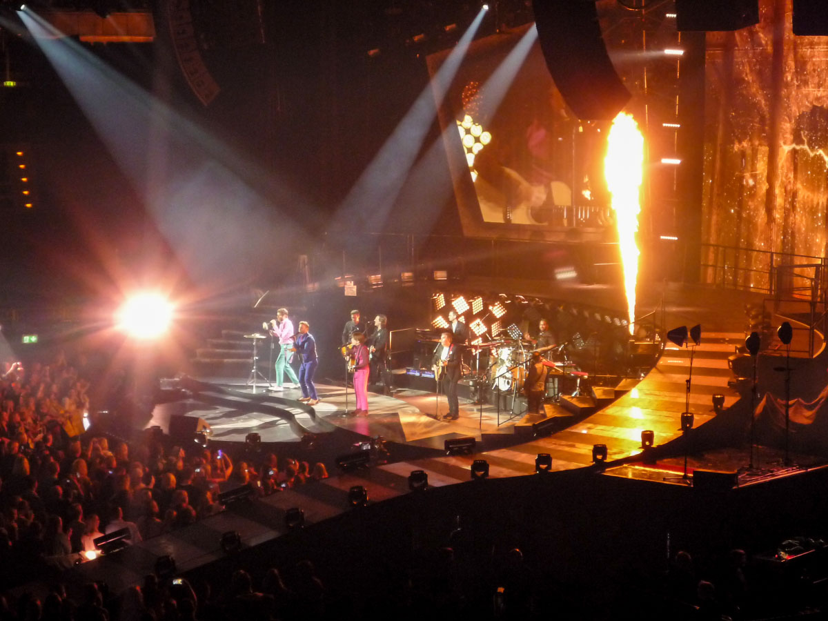 Take That-Konzert in Berlin