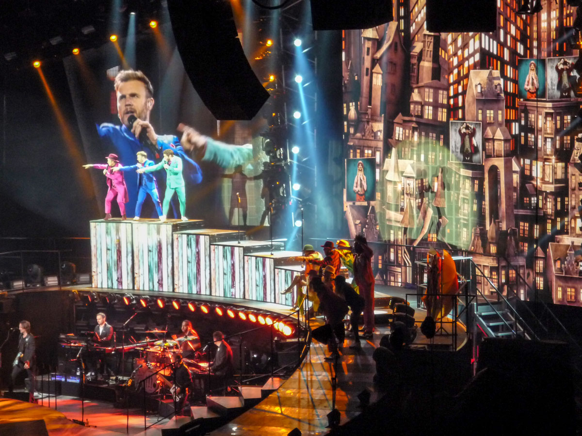 Take That-Konzert