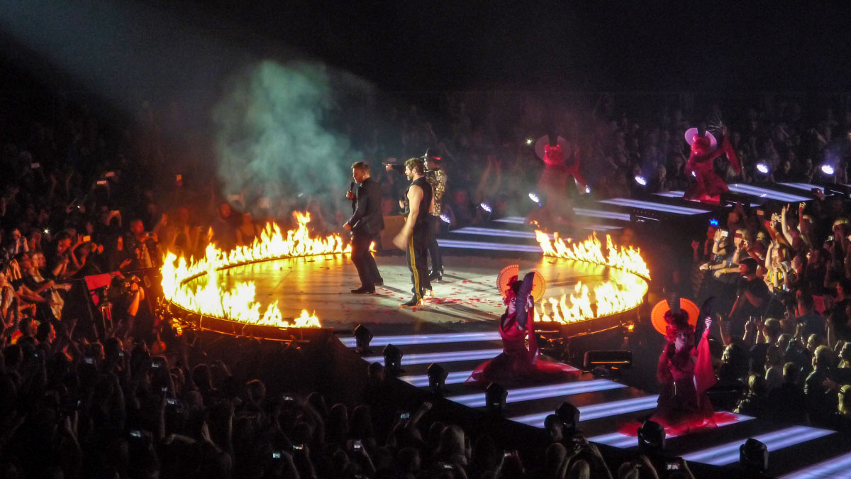 Take That - Velodrom Berlin
