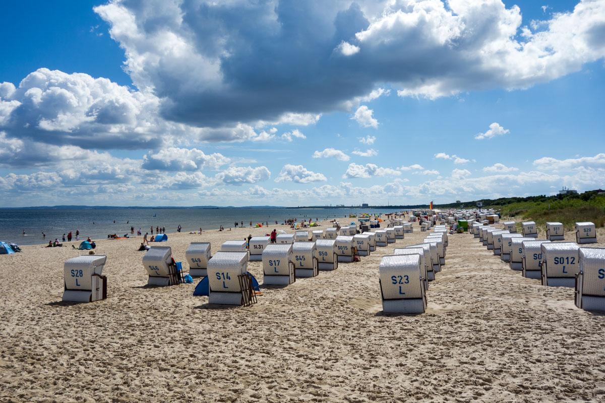 Strandkörbe in Ahlbeck