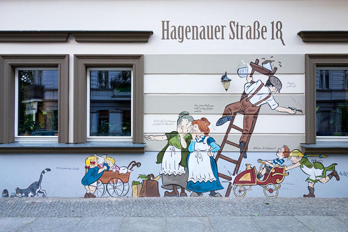 Zille-Wandbild Hagenauer Str. 18