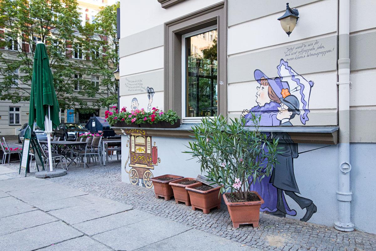 Zille-Wandbild im Kollwotzkiez