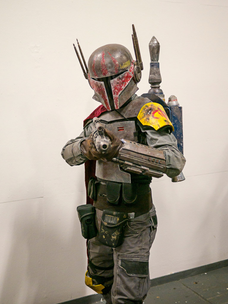 Boba Fett Cosplay - Comic Con Berlin 2016
