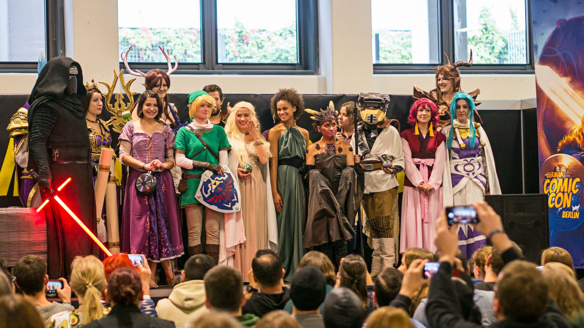 Costume Contest - Comic Con Berlin 2016
