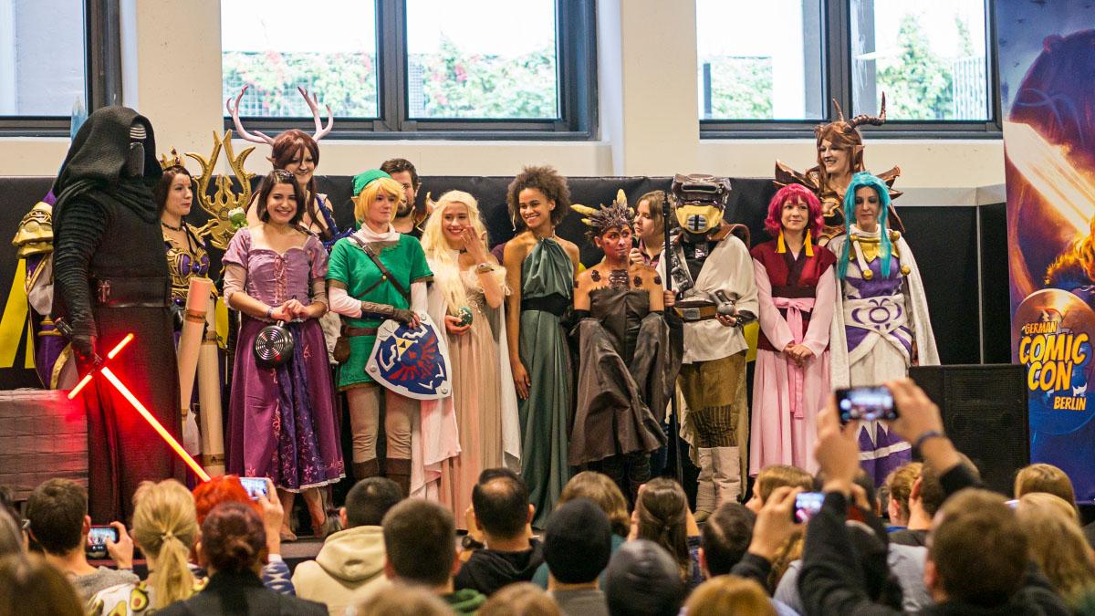 Costume Contest - Comic Con Berlin 2016