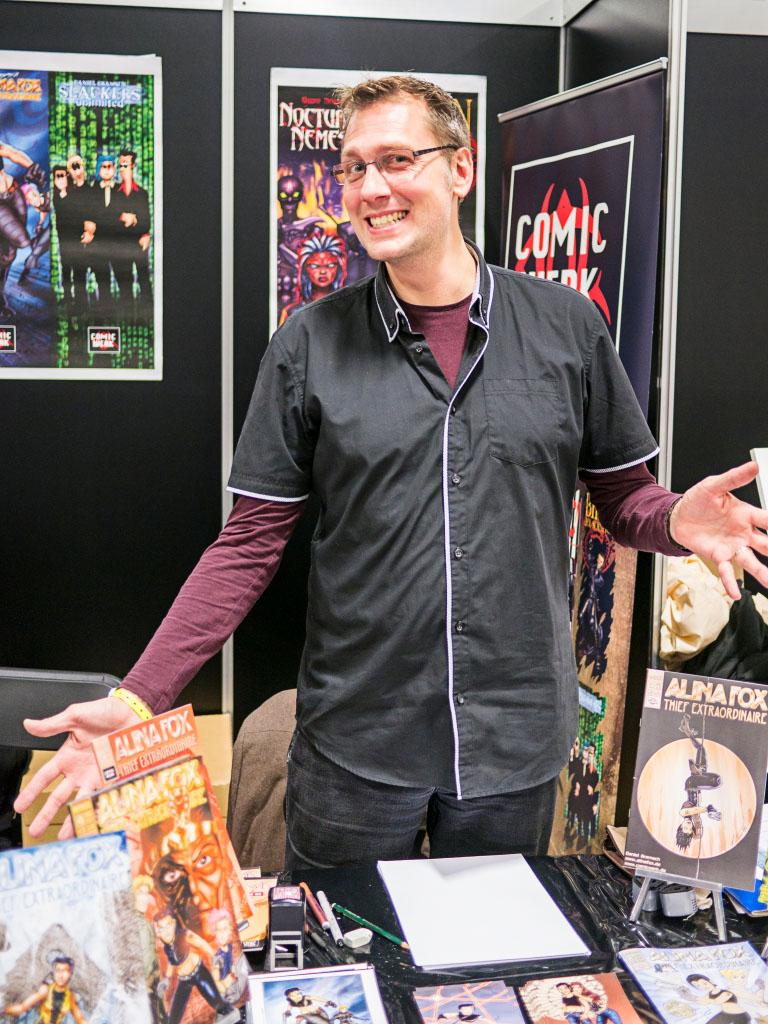 Daniel Gramsch - Comic Con Berlin 2016