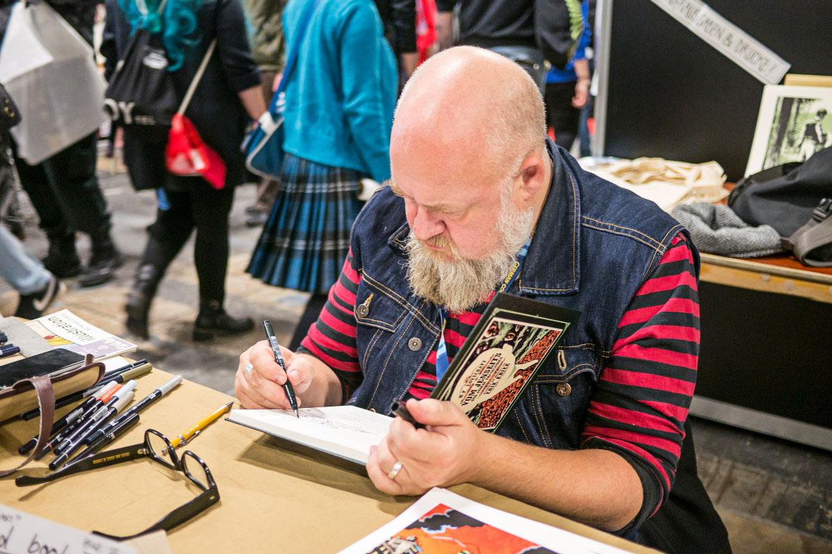 Erik Kriek - Comic Con Berlin 2016