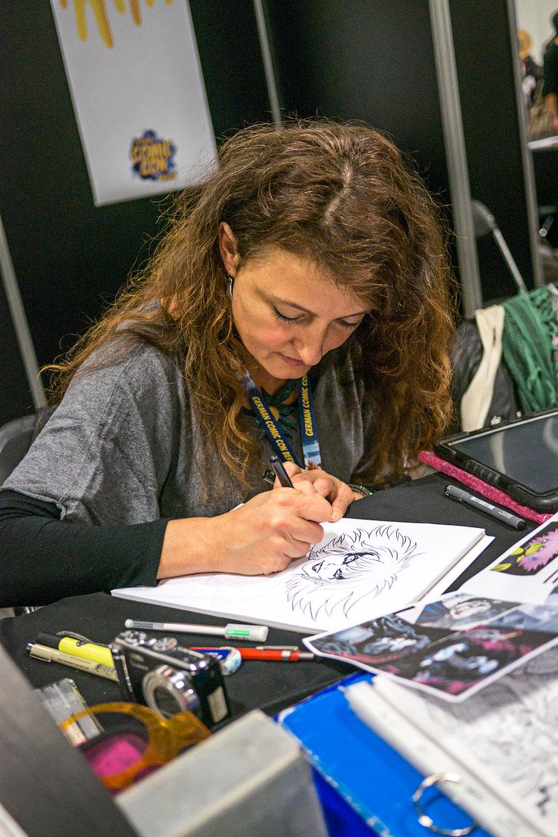 Federica Manfredi - Comic Con Berlin 2016