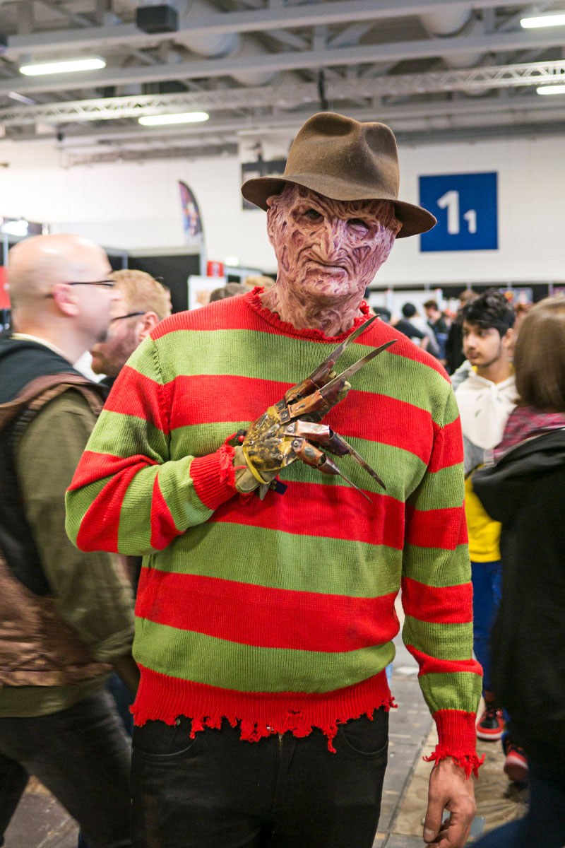 Freddy Krueger Cosplay - Comic Con Berlin 2016