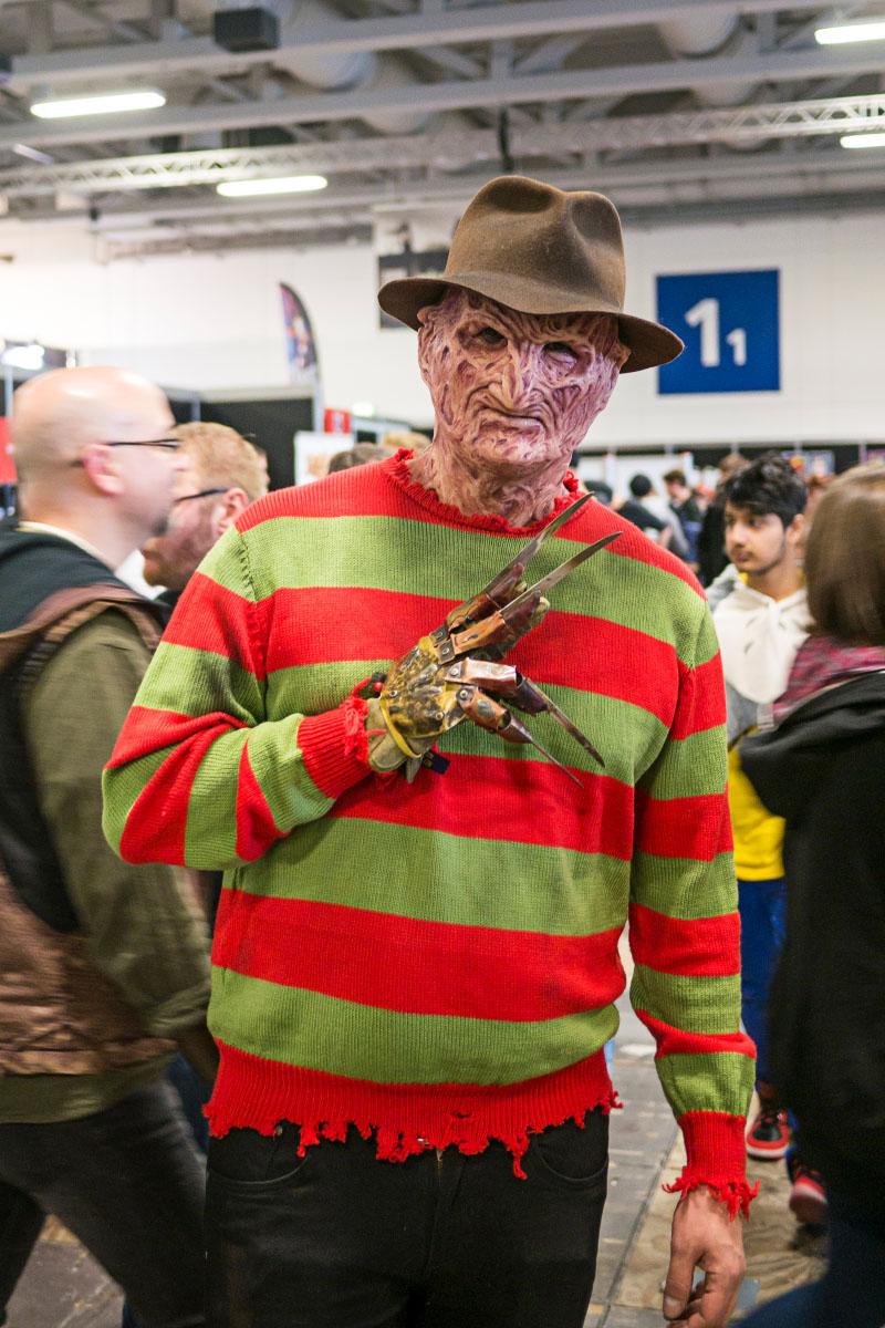 Freddy Krueger Cosplay - Comic Con Berlin 2016