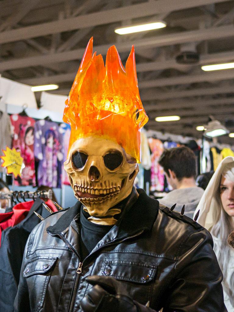 Ghost Rider Cosplay - Comic Con Berlin 2016