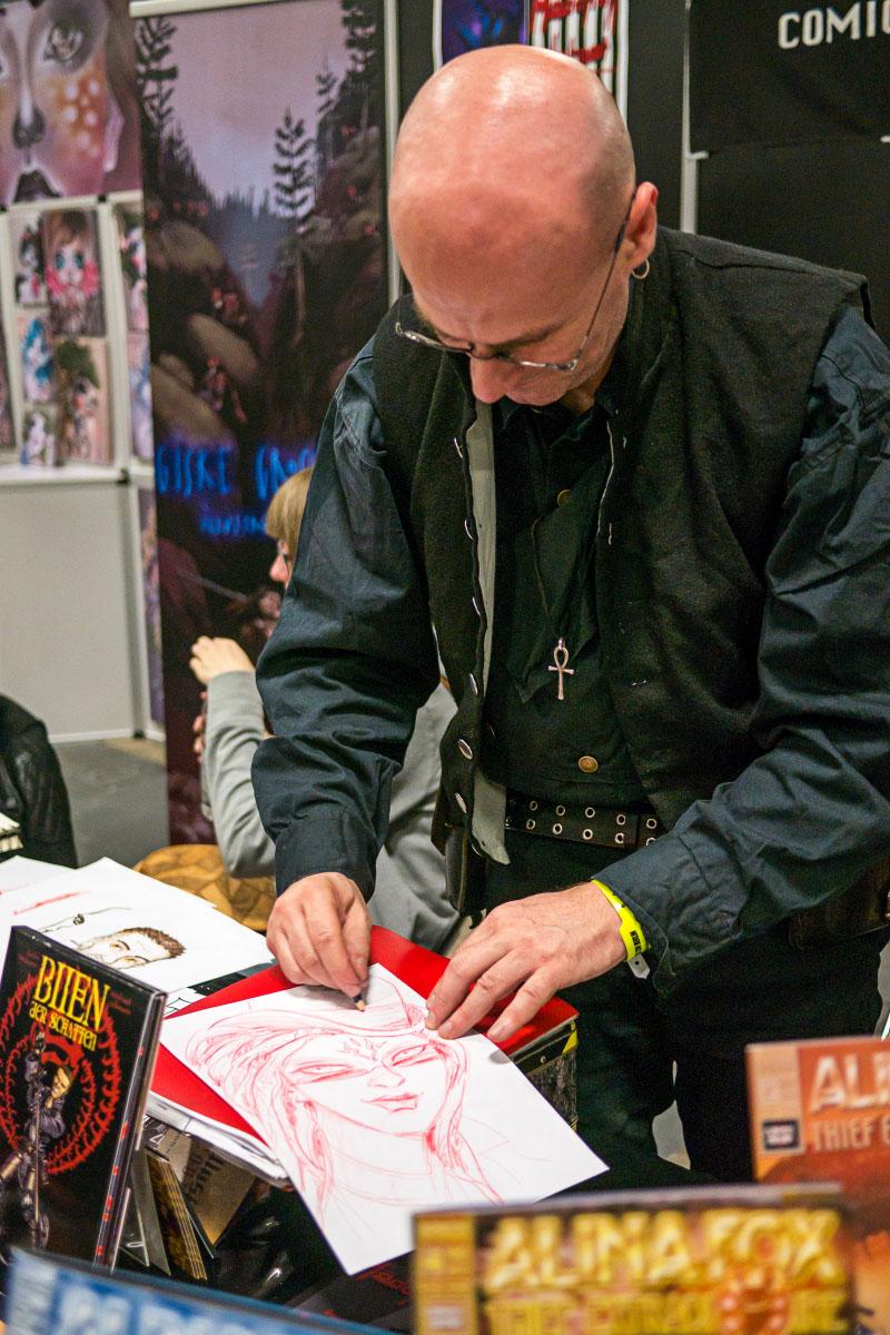 Guido Neukamm - Comic Con Berlin 2016