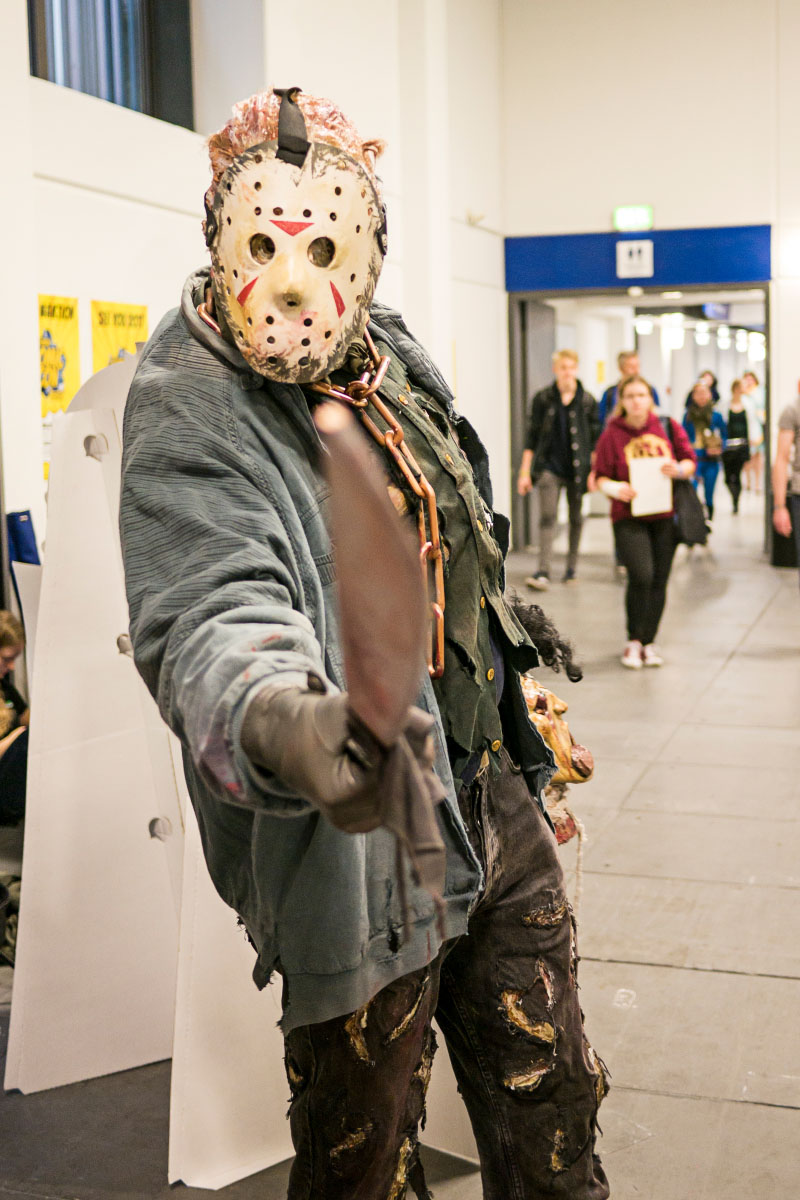 Jason Voorhees Cosplay - Comic Con Berlin 2016