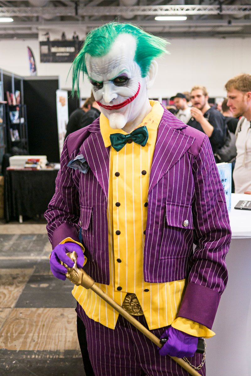 Joker Cosplay - Comic Con Berlin 2016