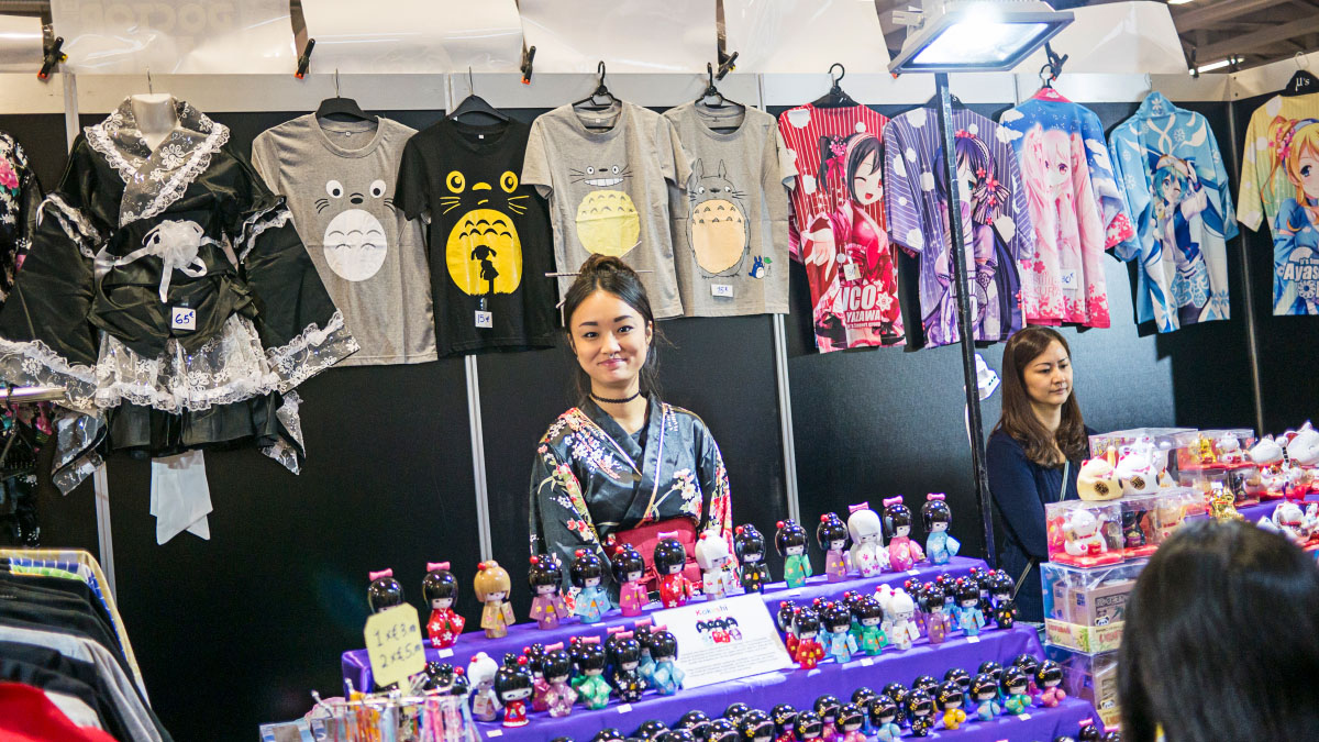 Kokoshi Puppen - Comic Con Berlin 2016