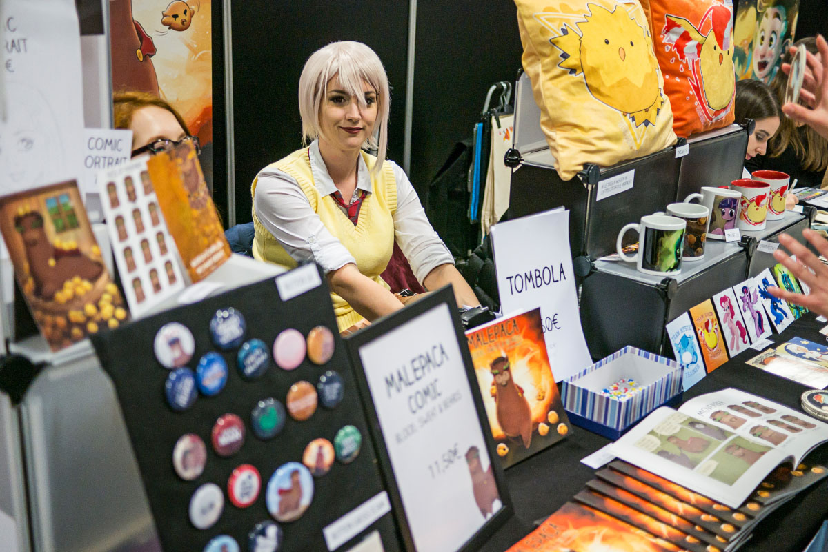 Malepaca - Comic Con Berlin 2016