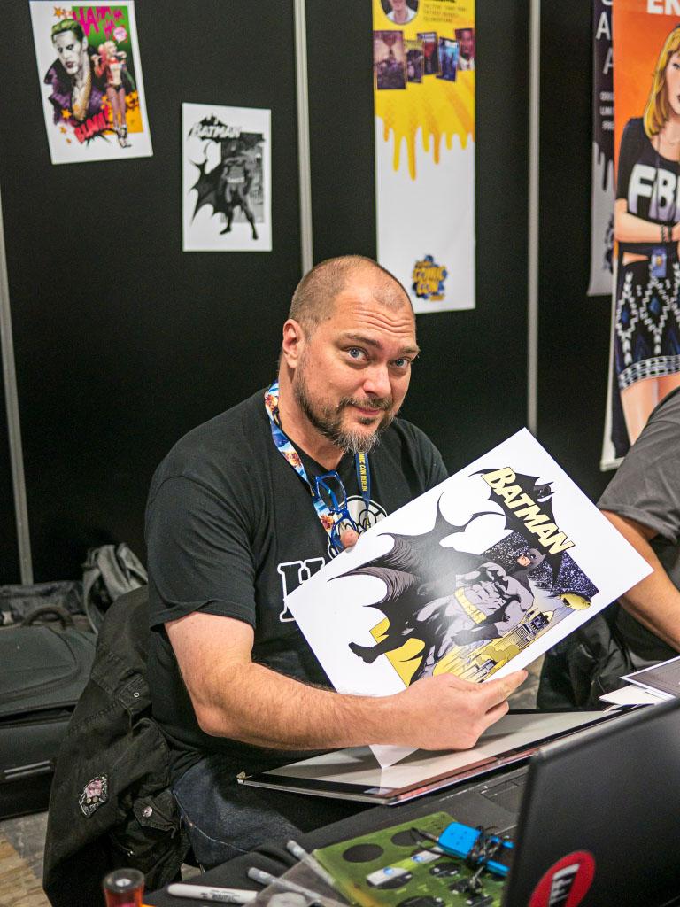 Steve Scott - Comic Con Berlin 2016
