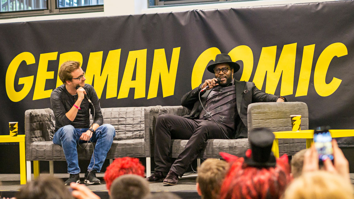 Chad L. Coleman - Comic Con Berlin 2016