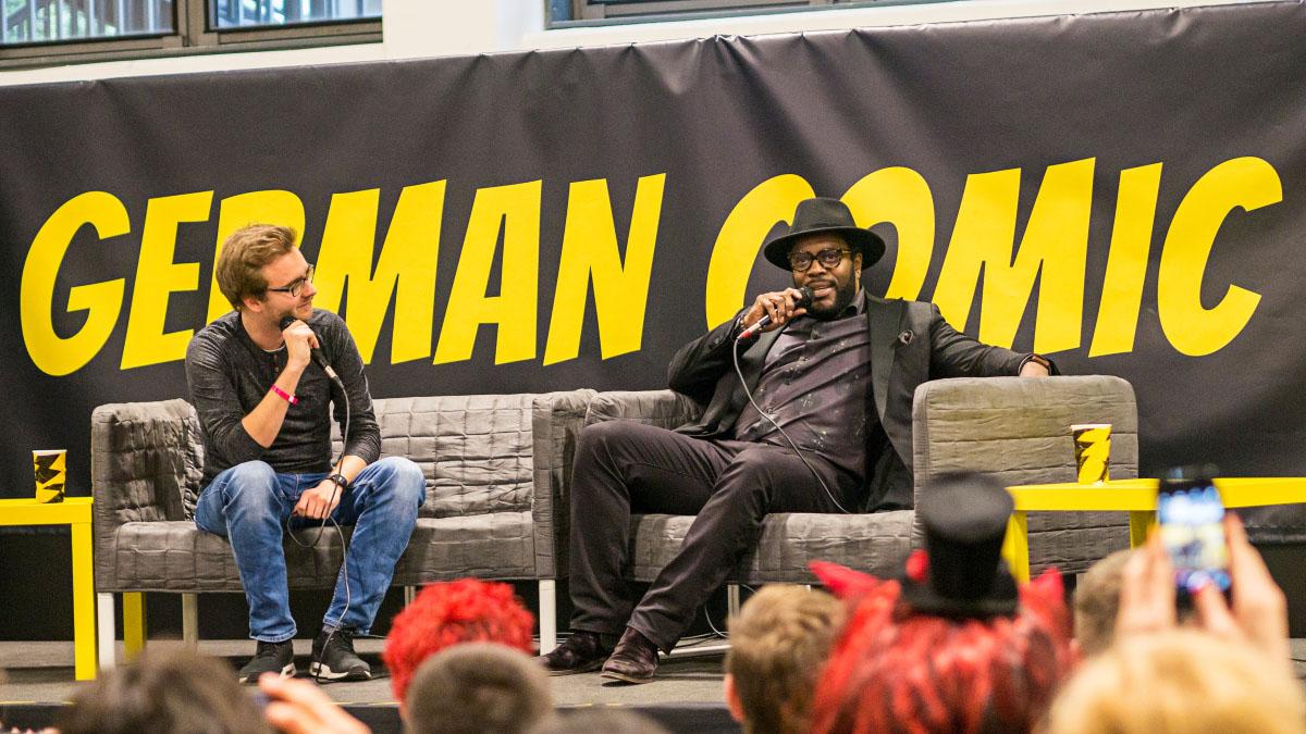 Chad L. Coleman - Comic Con Berlin 2016