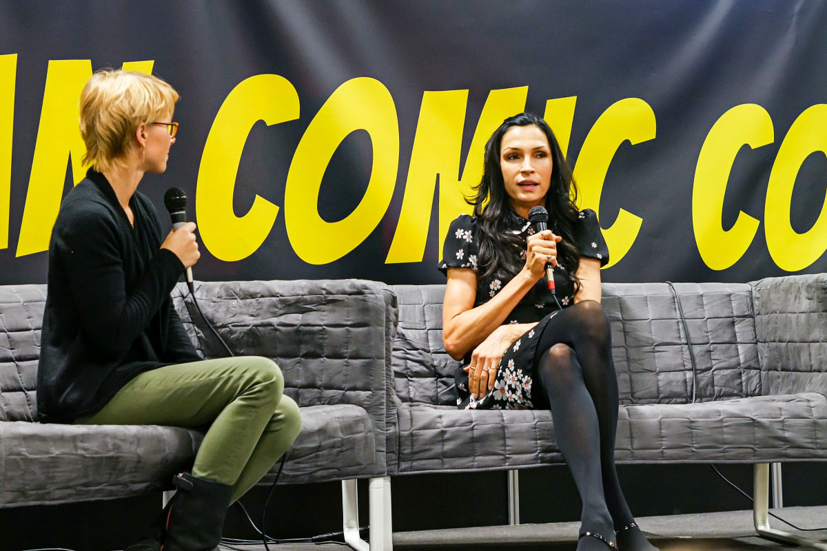 Famke Janssen - Comic Con Berlin 2016