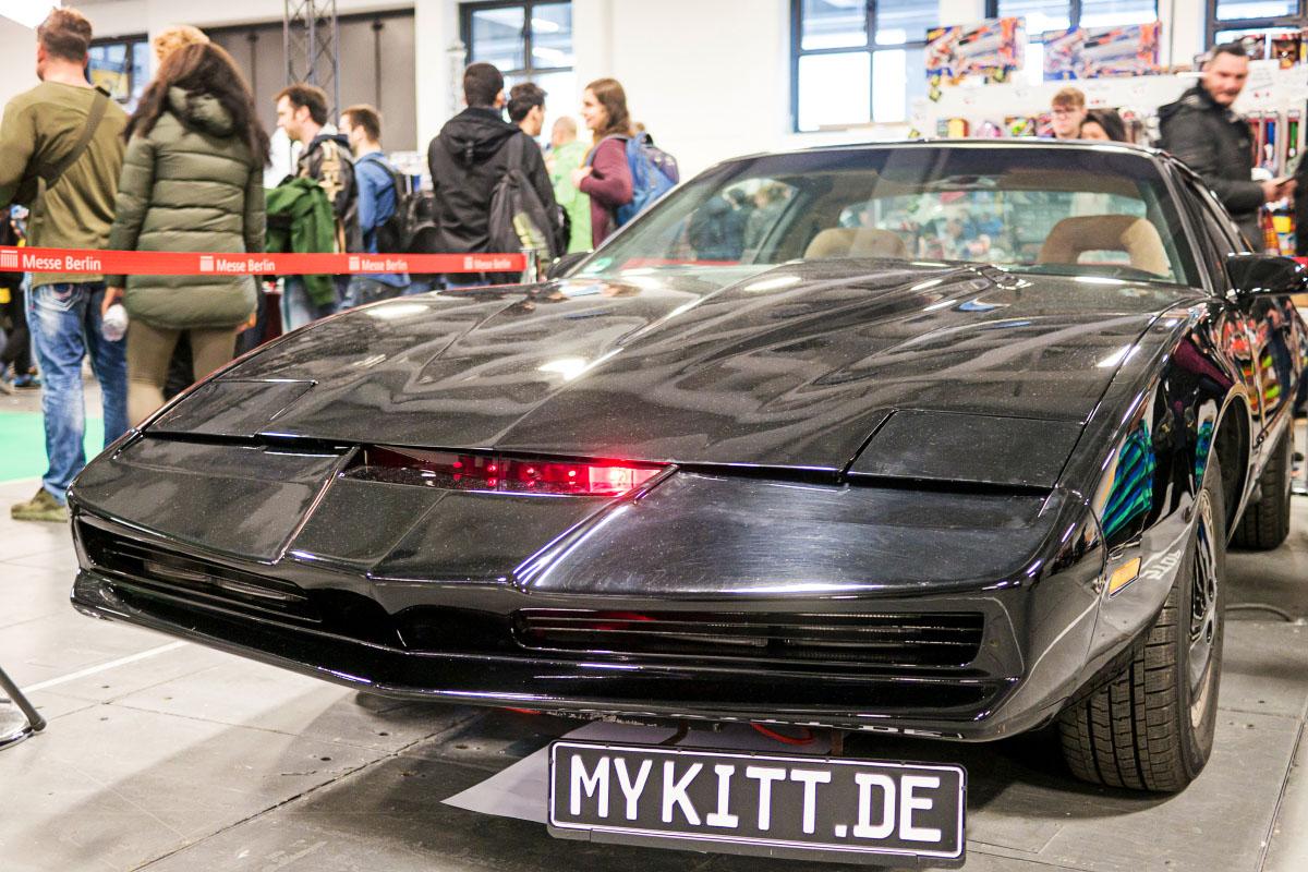K.I.T.T. von Knight Rider - Comic Con Berlin 2016