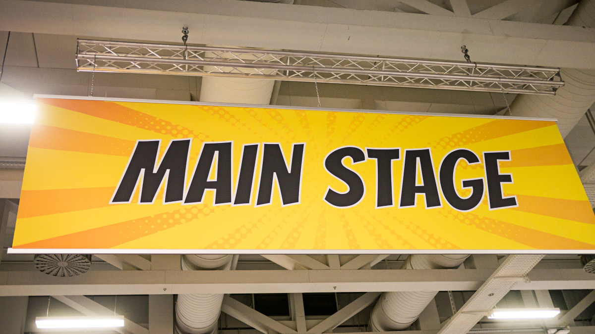 Berlin Comic Con 2016 - Main Stage